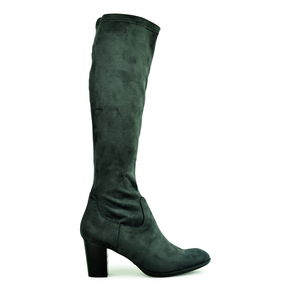 LENORE - Neo High Heel Long Boot Grey