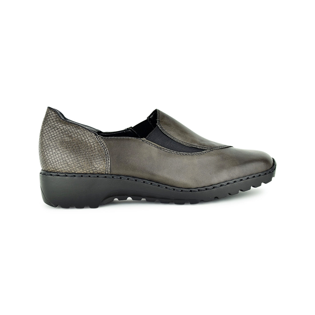 LINCH - Rieker Closed Shoe Grey