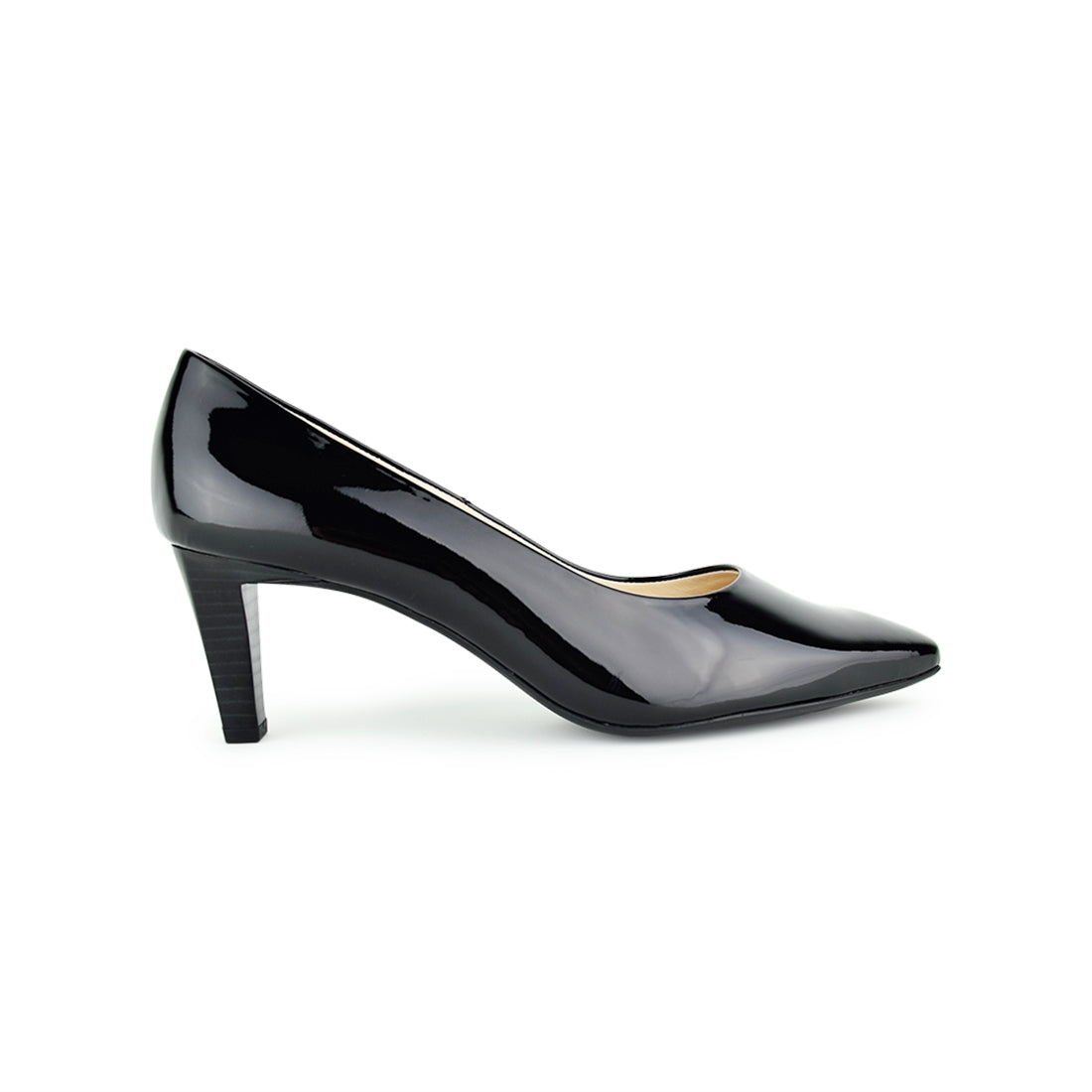 LORA - Peter Kaiser Court Shoe Black Patent