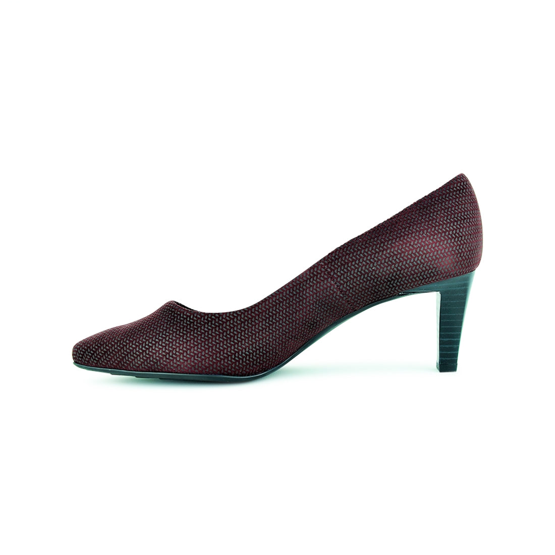 LORA - Peter Kaiser Court Shoe Red Print
