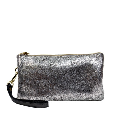 NADIA - Willow & Zac Grip Bag Silver Frost