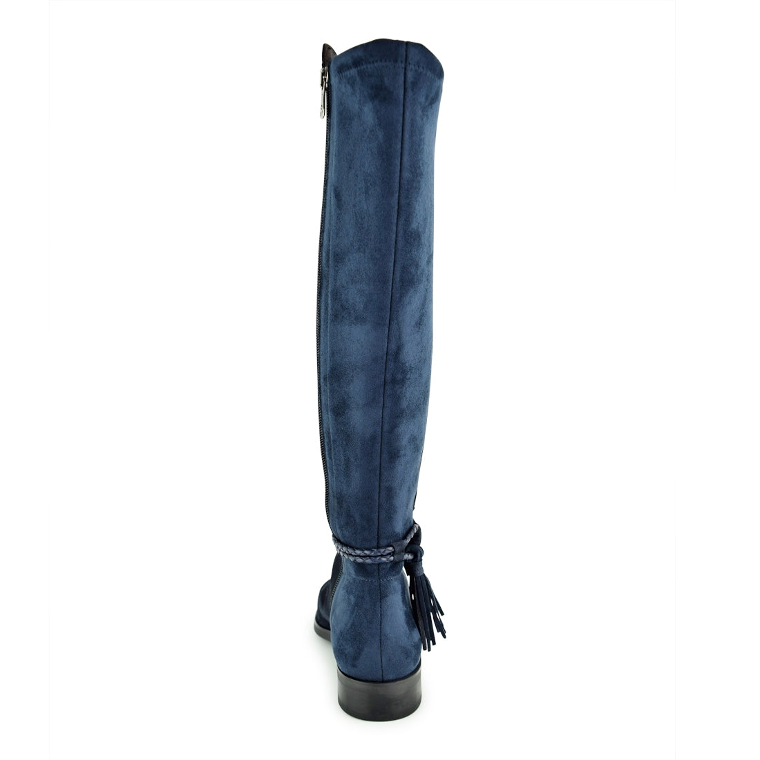 NERIDA - Dansi Long Boots Navy Suede