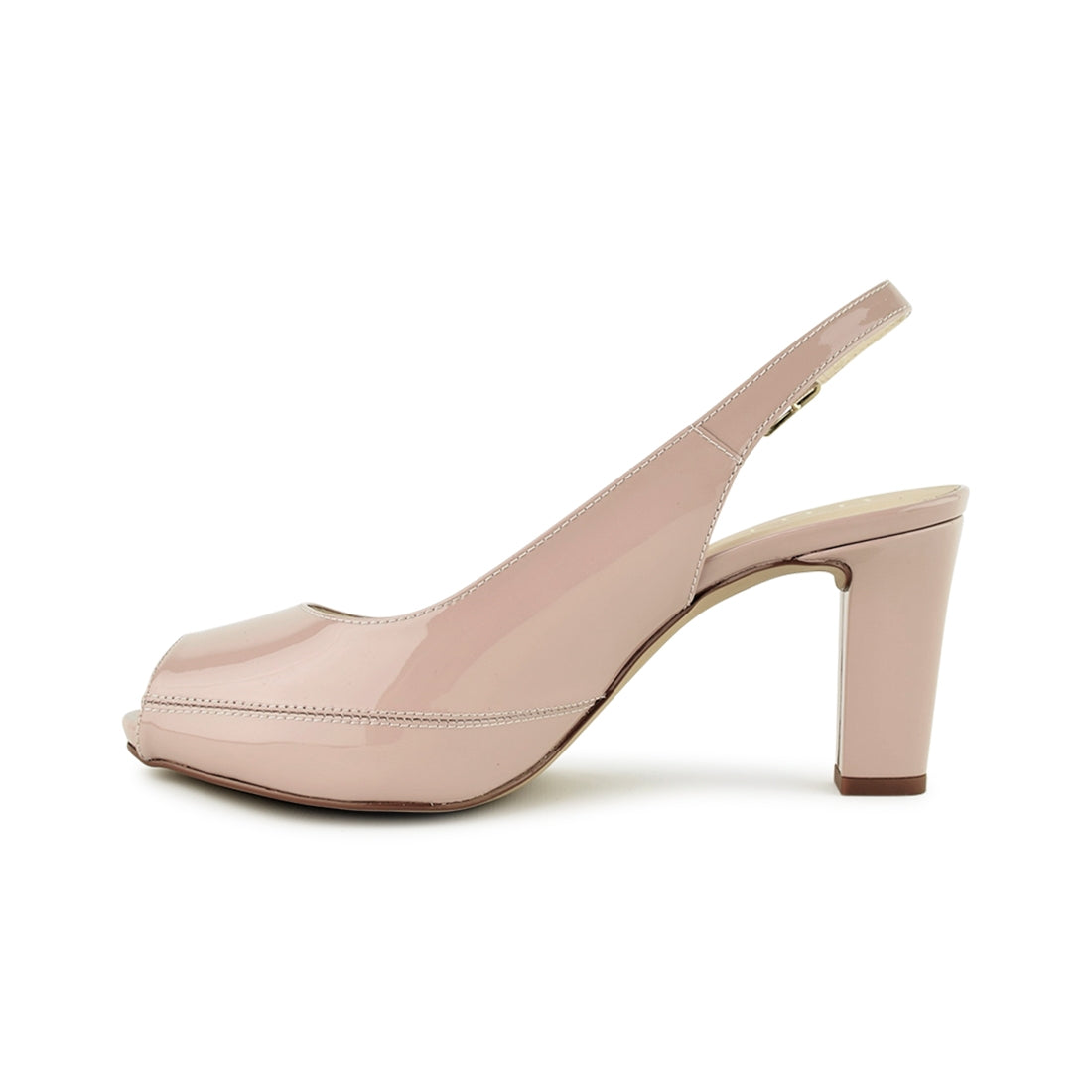 NICKY4 - Unisa Sling Back Blush Patent