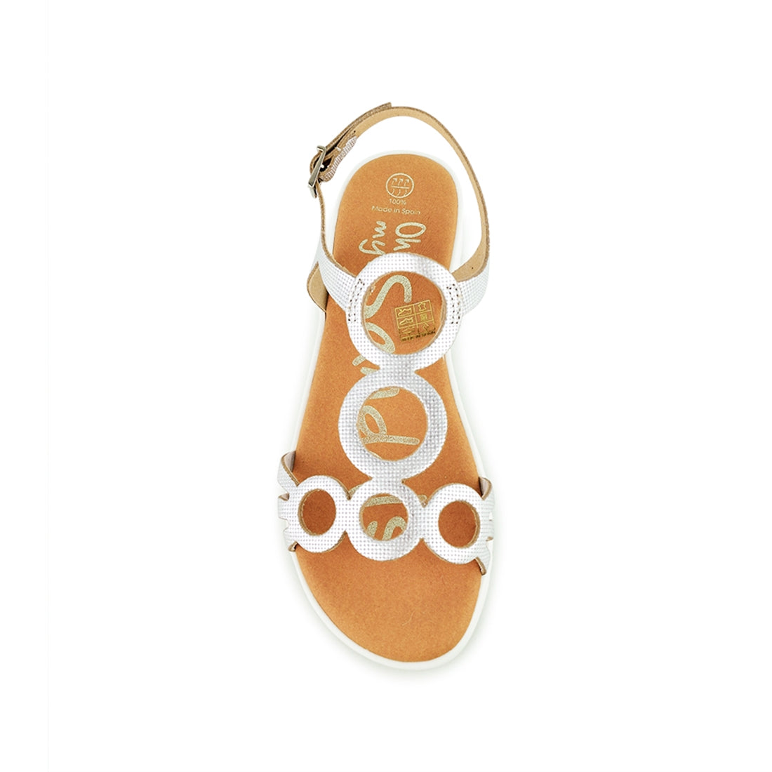 OLLIE - Oh My Sandals Sandal Silver Print
