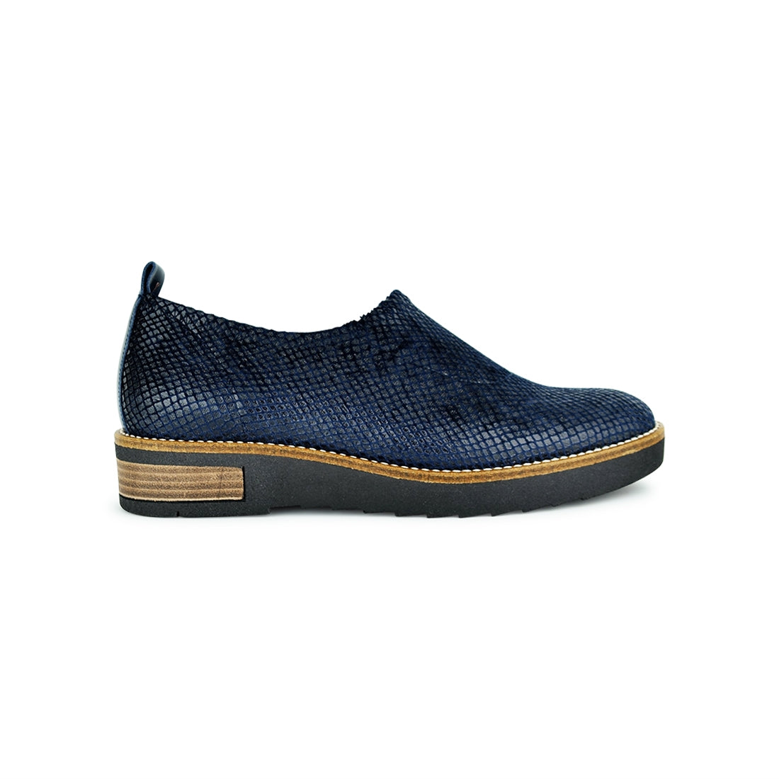 PITALO - Torretti Closed Shoe Navy Snake