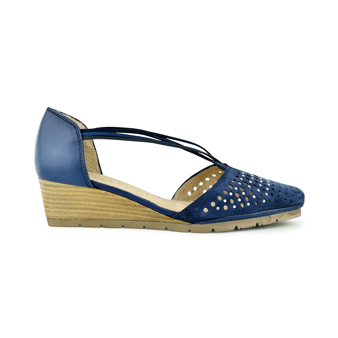 RICARDA - Hispanitas Closed Shoe Navy