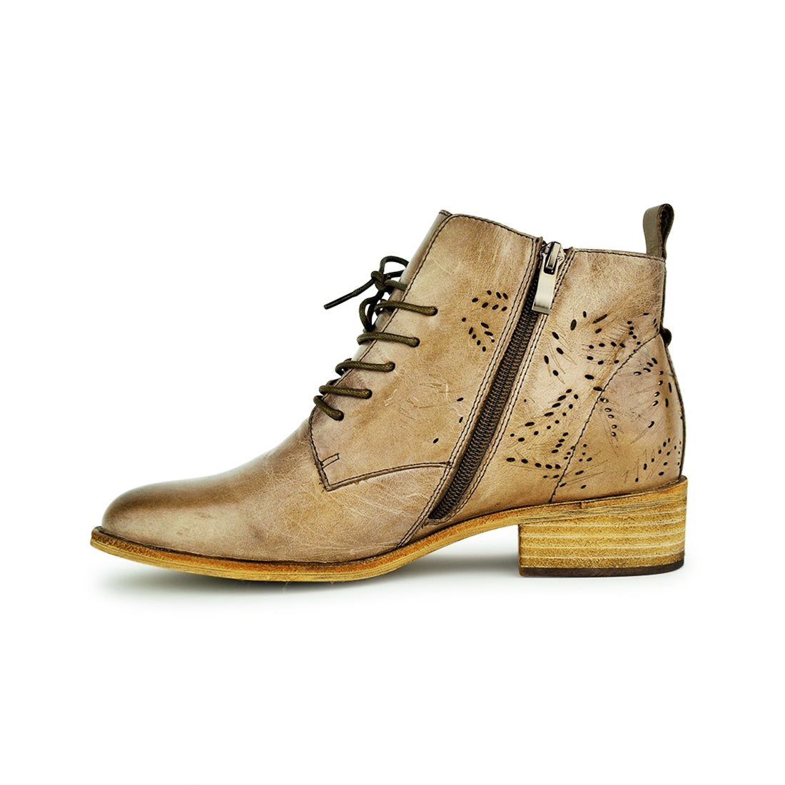 ROSSI - Warwick Dawson Ankle Boots Taupe Suede