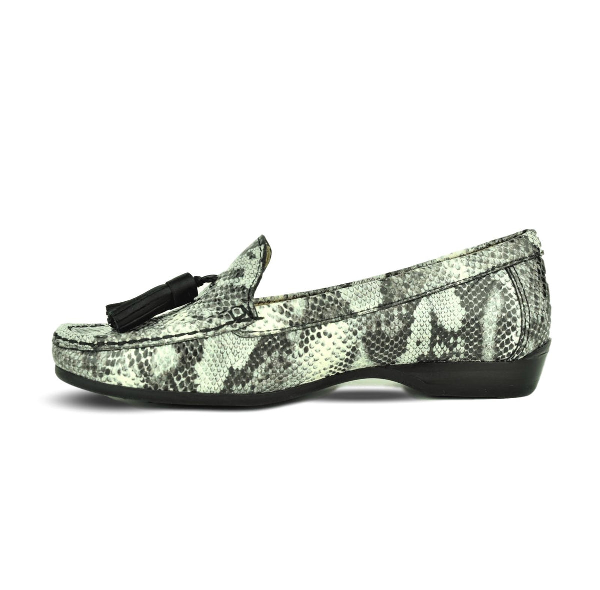 STEFANY - Wirth Moccasin Snake Print