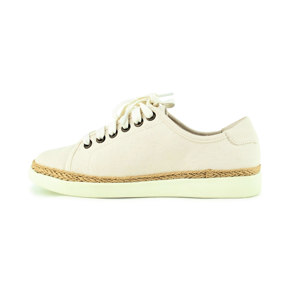 HATTIE - Vionic Lace Up Ivory