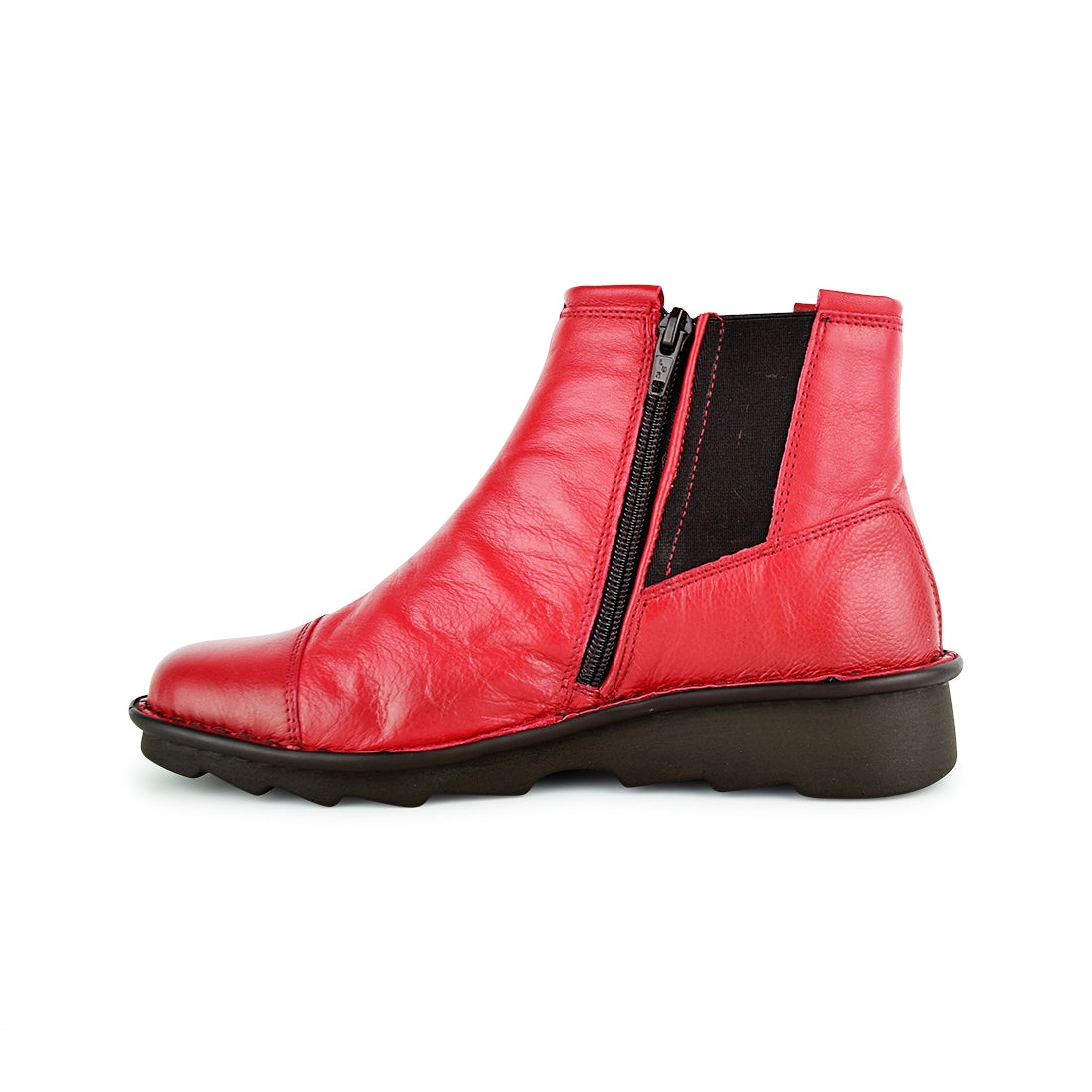 TRONI - Relax Ankle Boots Red