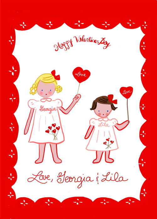 Valentines Cards- Multiple Children