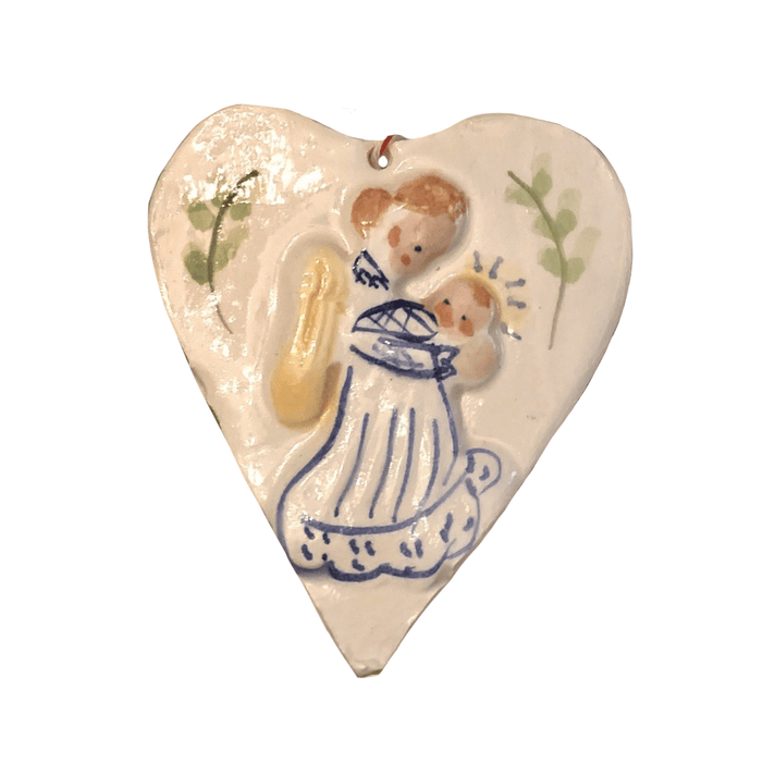 Angel Holding Child Ornament