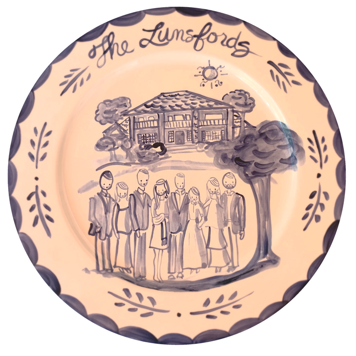 House Family Plate