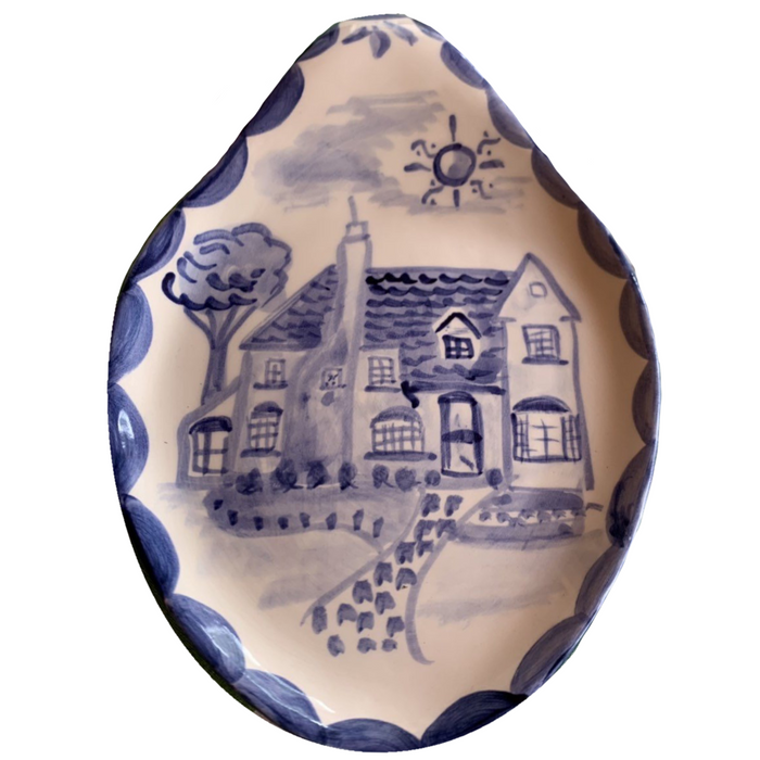 Ceramic Spoonrest - Custom House
