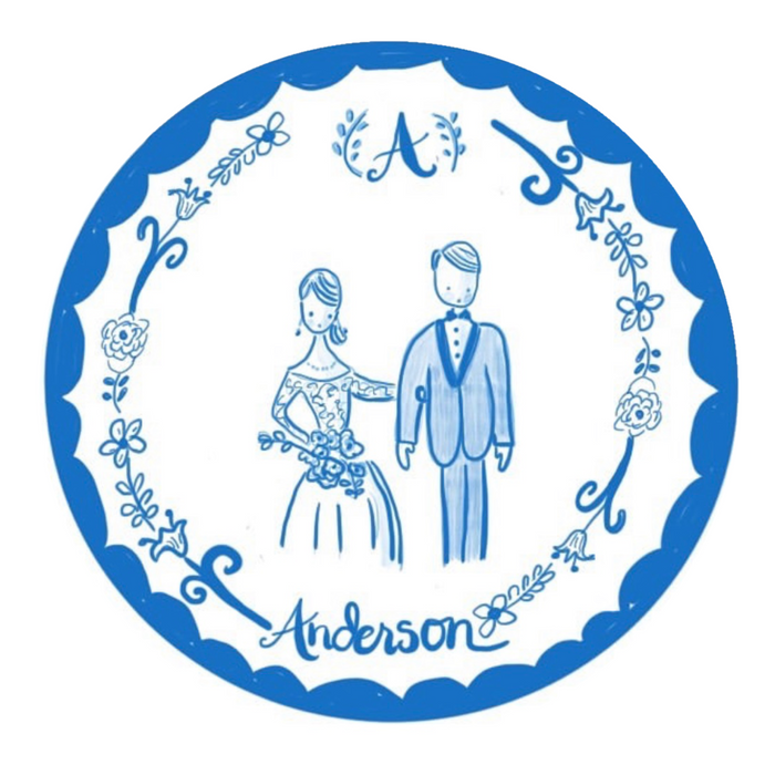Custom Stickers - Wedding