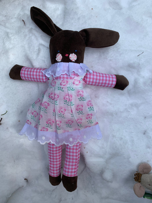 Personalized Bunny Doll- Girl