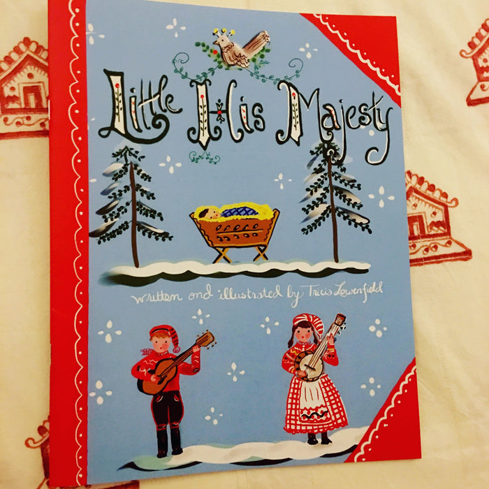 "Christmas Book ""Little His Majesty"" - The 12 Days of Christmas"