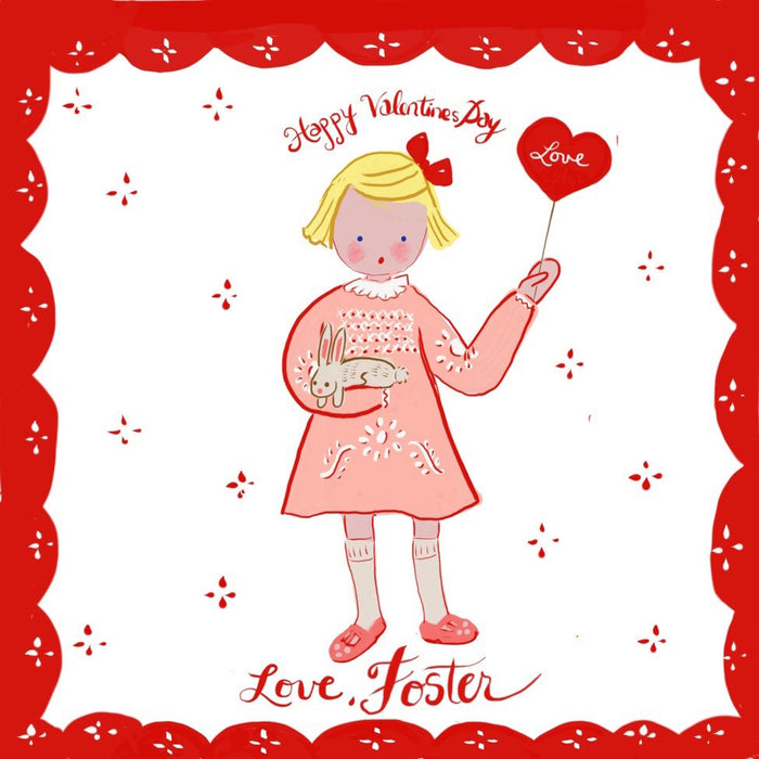 Valentine Tags-  Personalized for Multiple Children