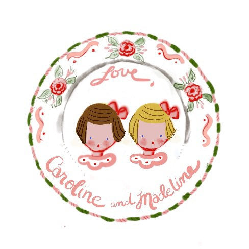 Sticker Gift Tags - Roses Multiple