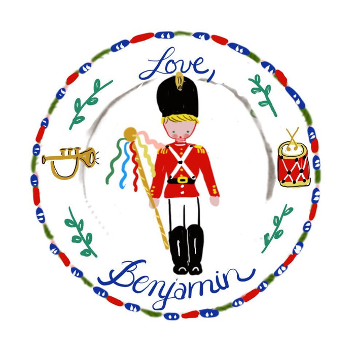 Sticker Gift Tags - Toy Soldier