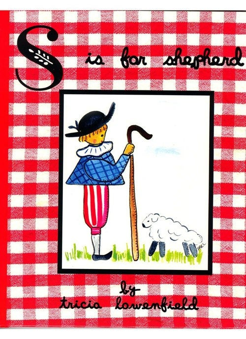 "Children's Book ""S is for Shepherd "" by Tricia Lowenfield"