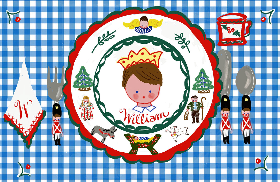 Laminated Placemat - Christmas