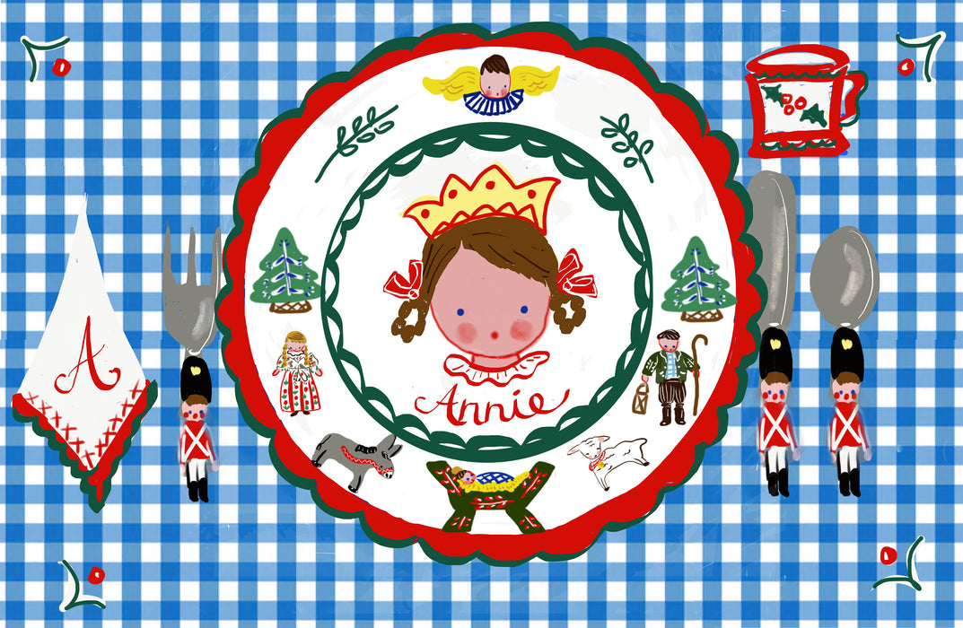 Christmas Laminated Placemat