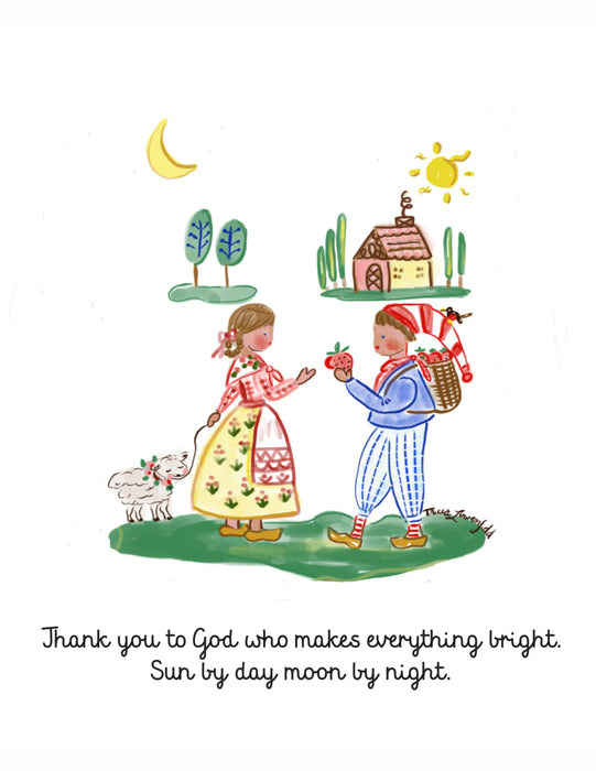 Thank You So Book, Learning to Give Thanks, Children's Book