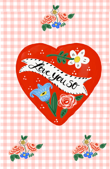 Tea Towel - Love You So