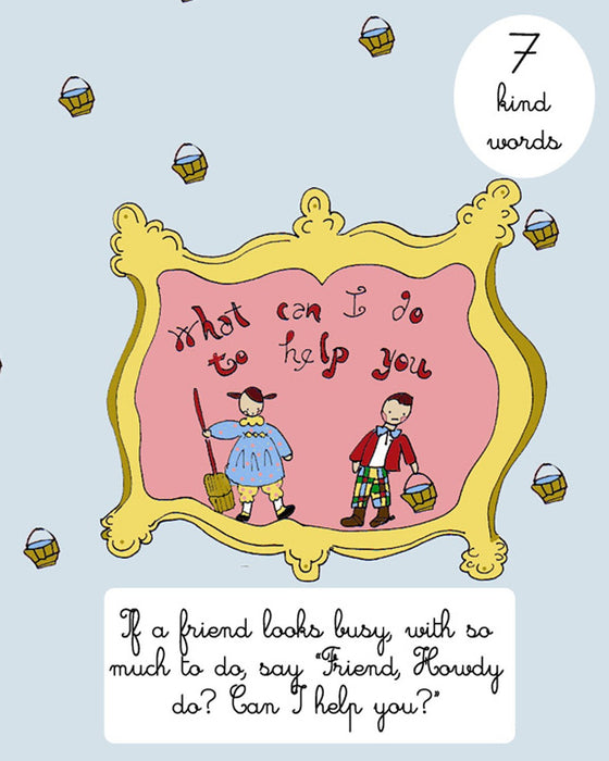 "Children's Book ""Be Kind Be Sweet Be Nice to Everyone You Meet"" book by Tricia Lowenfield"