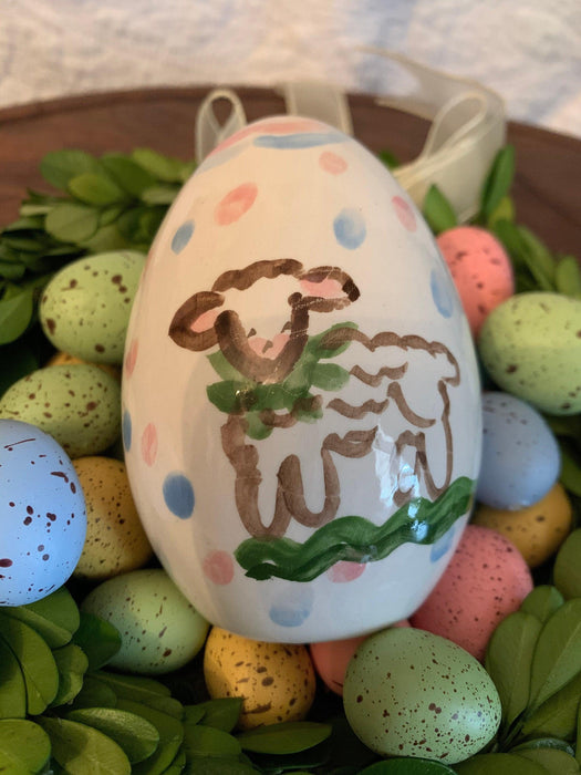 Baby's First Easter Egg - Lamb