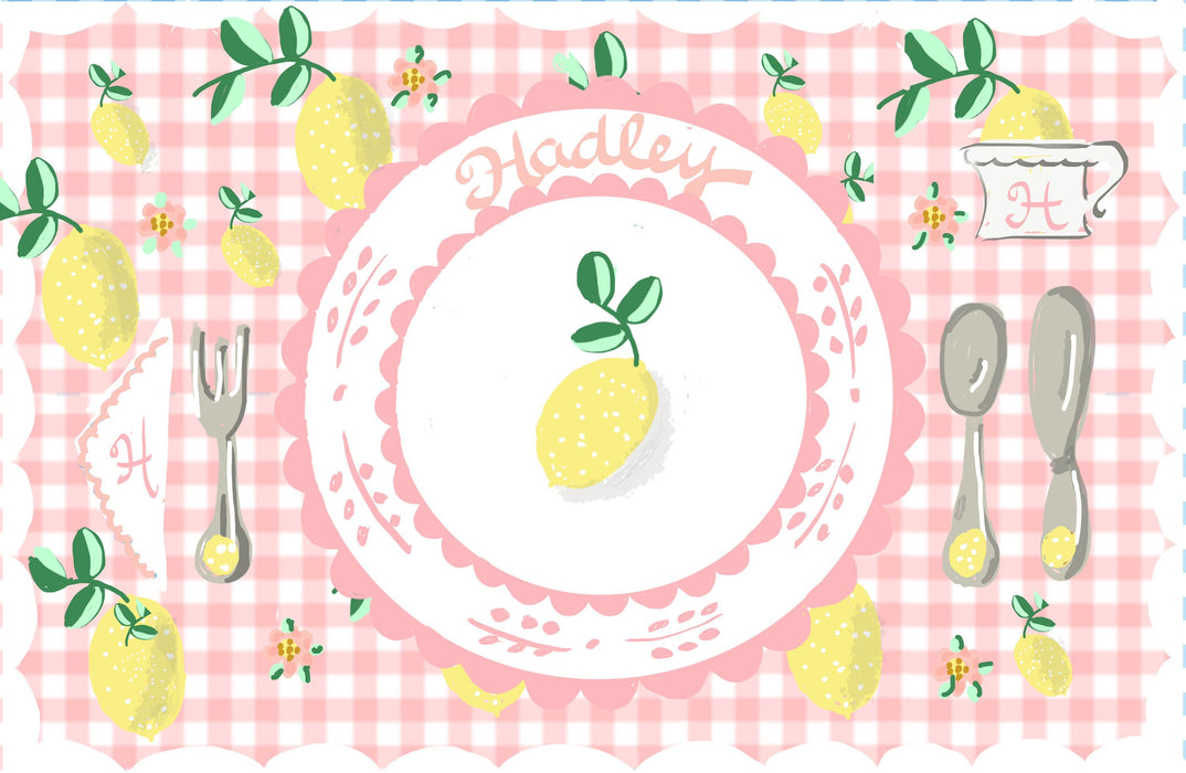 Laminated Placemat - Strawberry