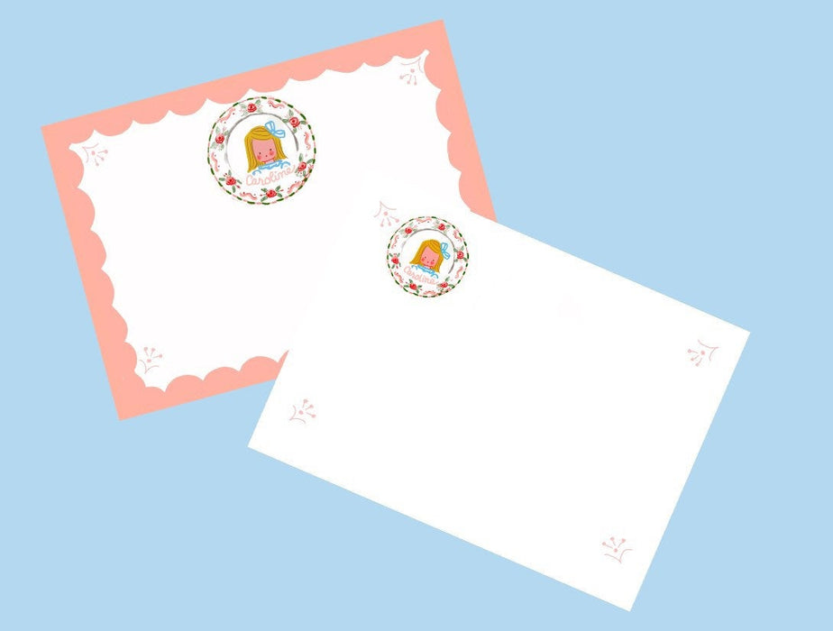 Personalized Notecards with Envelopes