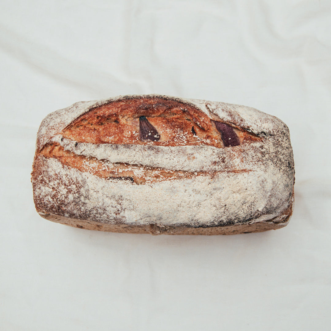 Rye Onion and Caraway Loaf