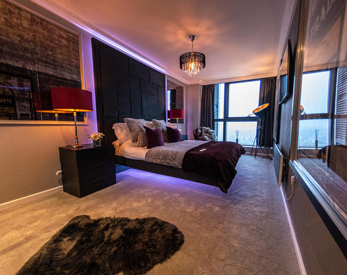 Carpets Installed in the Bridgewater Place Penthouse Apartment in Leeds