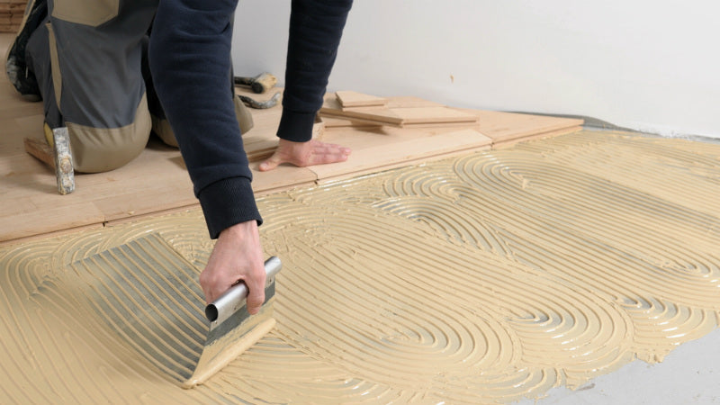 How to Install Glue-Down Engineered Wood Flooring