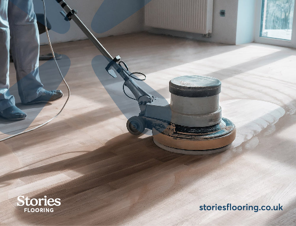 How to Sand Down Solid Wood Flooring