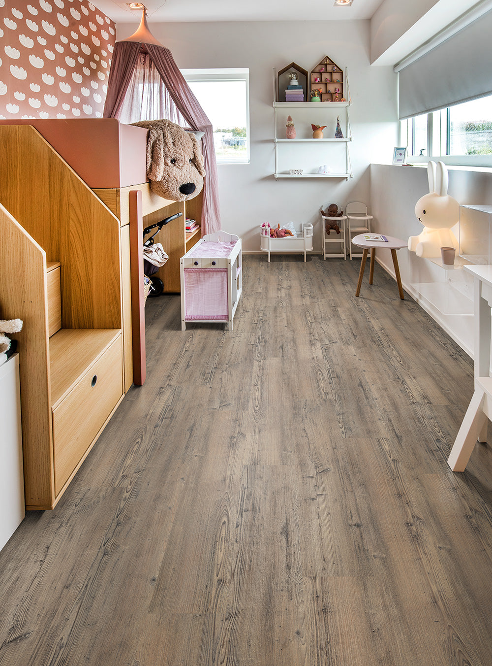 Kahrs Lacandon Click LTCLW2112-218 6mm Flooring is Ideal For Children's Bedrooms