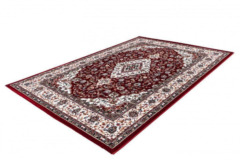 Orient Teppich, Isfahan 740, rot, rechteckig, Höhe 15mm