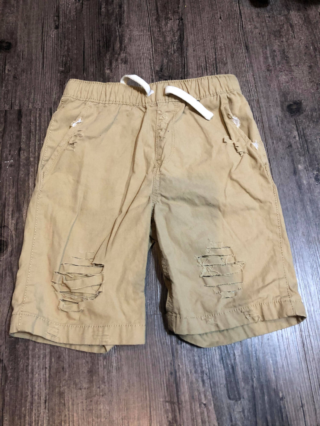 5T BOYS KHAKI SHORTS