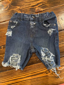 Mystery Distressed Shorts (NO PATCHES)