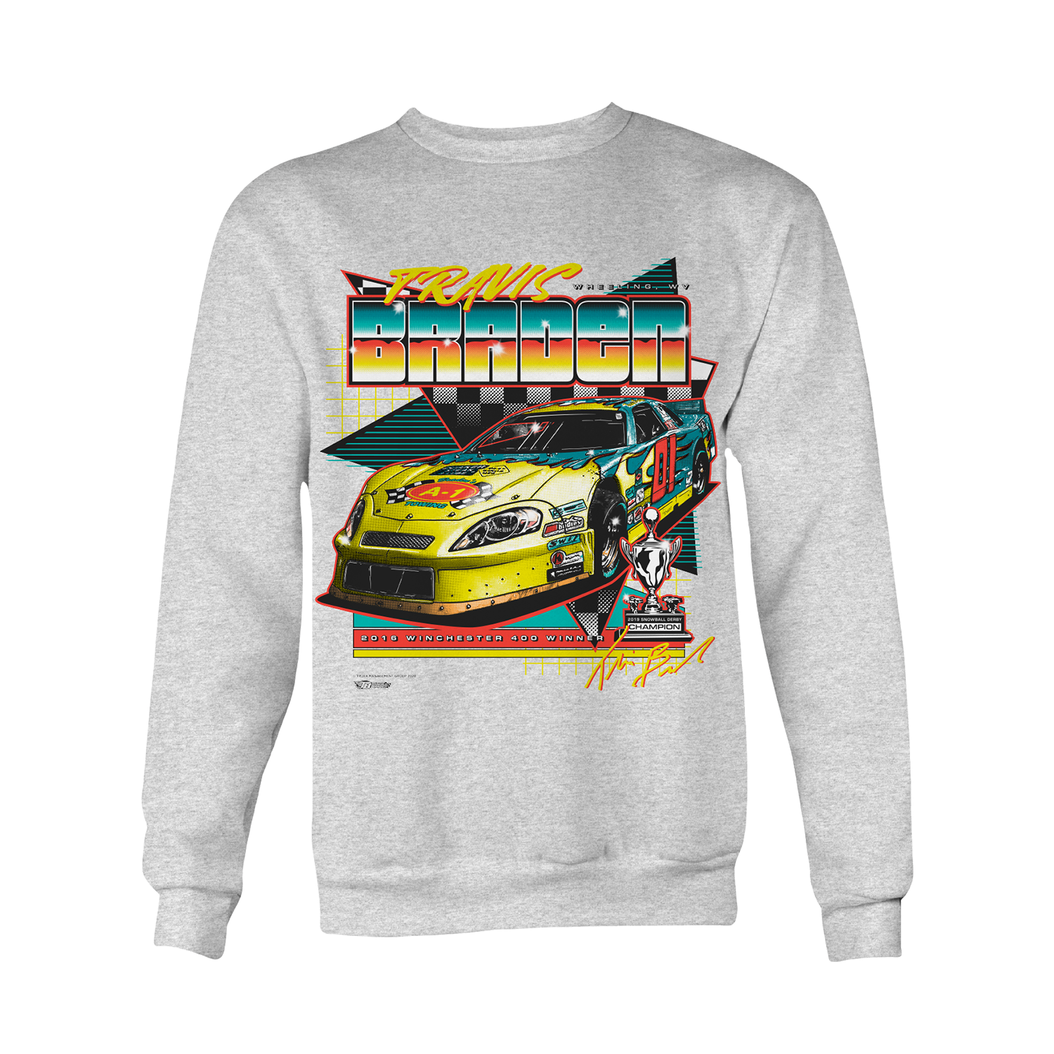 Throwback Crewneck