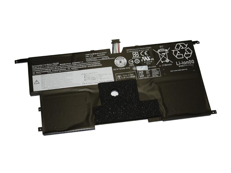 Powerwarehouse PWH-00HW003 4-cell 15.2V, 3355mAh Li-Polymer Internal Notebook Battery for LENOVO Thinkpad X1 Carbon 3rd Gen