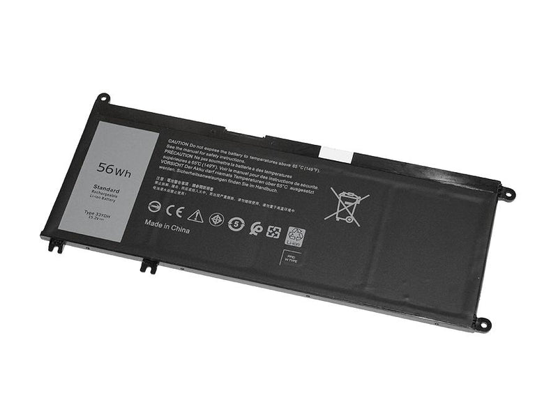 Powerwarehouse PWH-33YDH 4-cell 15.2V, 3684mAh LiPolymer Notebook Battery for DELL Inspiron 17 7778, 17 7779