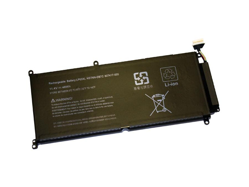 Powerwarehouse PWH-807417-005 3-cell 11.4V, 4210mAh LiPolymer Internal Notebook Battery for HP HP Envy 15-AH, 15T-AE, M6-P