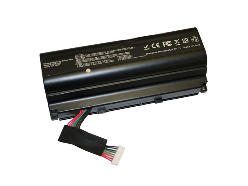 Powerwarehouse PWH-A42N1403 8-cell 15V, 5800mAh Li-Ion Internal Notebook Battery for ASUS Asus ROG G751, GFX71 Series