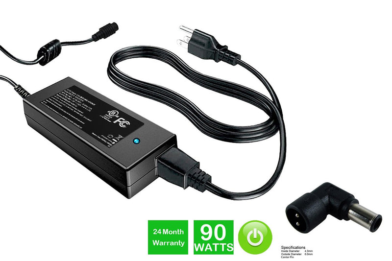 Powerwarehouse PWH-AC-1990105 19V, 90W AC Adapter for AC Adapter w/ C105 tip for various OEM notebook models