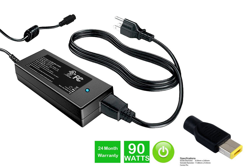 Powerwarehouse PWH-AC-2090134 20V, 90W AC Adapter for LENOVO THINK PAD X1 Carbon 3443,3446,3448,3460,3462,3463