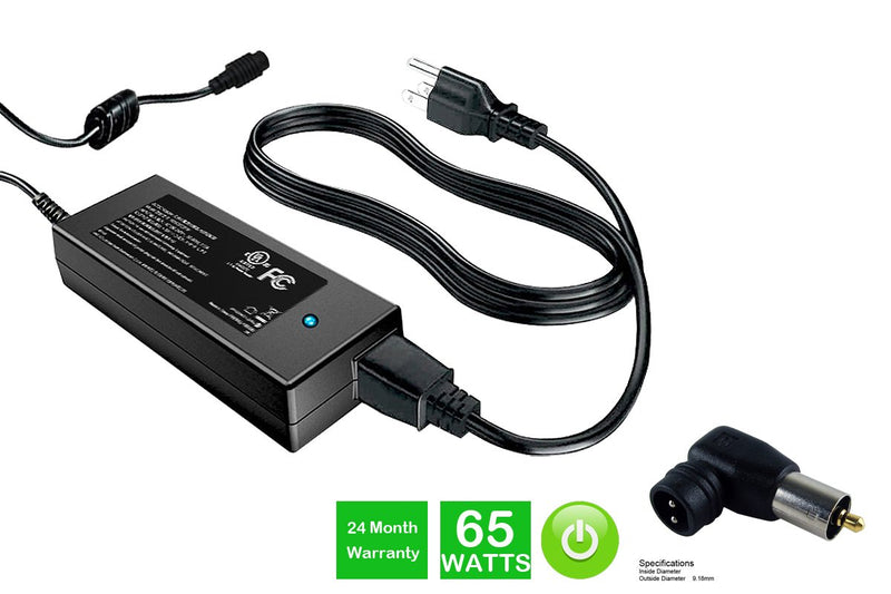Powerwarehouse PWH-AC-2465106 24V, 65W AC Adapter for AC Adapter w/ C106 tip for various OEM notebook models