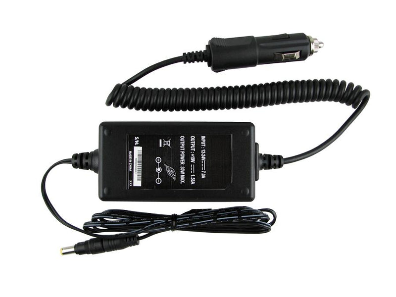 Powerwarehouse PWH-AP-1930XXX 19V,  30W Auto Adapter for 19V/30W Auto Adapter for Acer Aspire One; Averatec N1030,  1030;